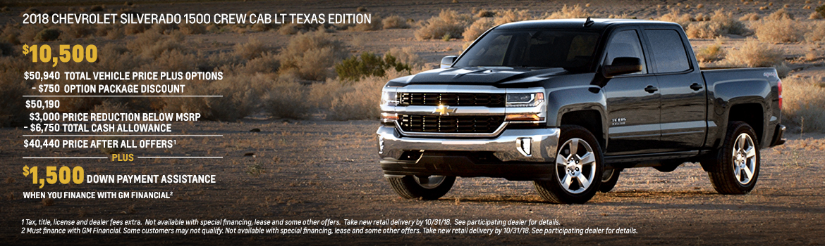 West Texas Chevy Dealers